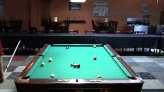 Chris Bartram Vs Corey Deuel - One Pocket From California Billiard Club In Mountain View