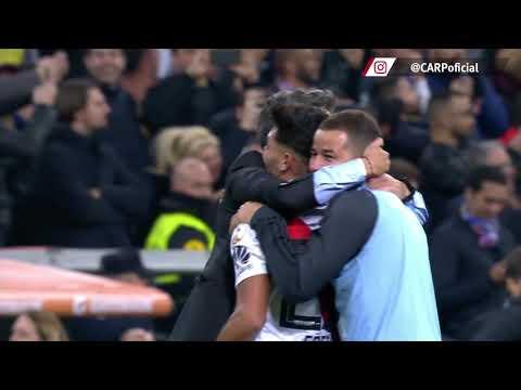 Gol del Pity Martínez en la final de la Copa Libertadores