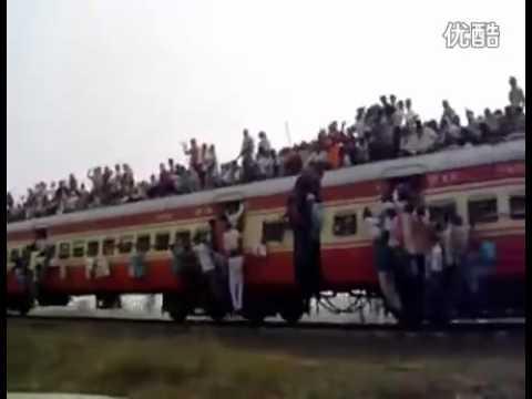 Khiếp sợ trước đoàn tàu chở người ở Ấn Độ