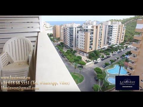 Апартаменты в Бенидорме с видом на море в тихом районе Ла Кала всего за 110 000 евро!