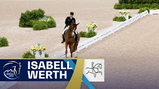 Isabell Werth remains no.1 in Dressage on Bella Rose | FEI World Equestrian Games 2018