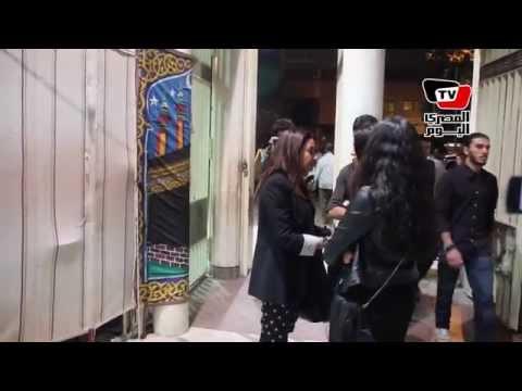 فنانات في عزاء والدة المخرجة كاملة أبو ذكري