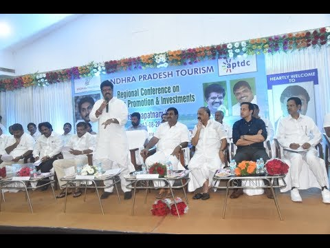 Tourism Promotion & Investments Regional Conference by AP Tourism in Visakhapatnam,Vizag Vision...