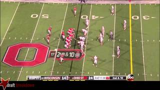 Corey Linsley vs Wisconsin (2013)