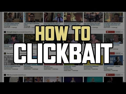 How to Clickbait on YouTube