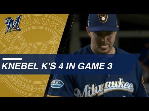Video: Knebel shuts down Dodgers, strikes out 4