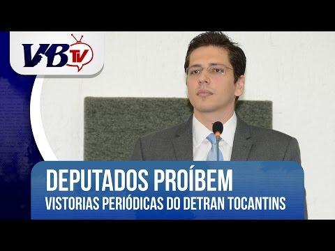 VBTv | Sustada portaria do Detran/TO sobre vistoria veicular obrigatória