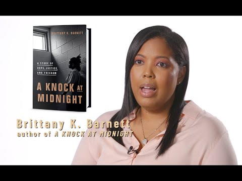 Brittany K. Barnett on Sharanda Jones in A KNOCK AT MIDNIGHT