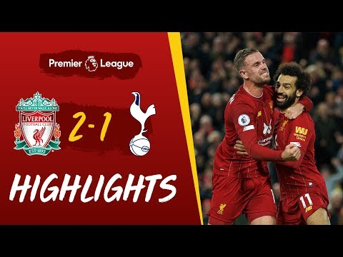 Liverpool 2-1 Spurs | Late Salah penalty wins it for Reds | Highlights