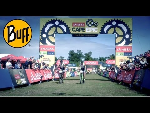 Clip BUFF® Pro Team en la Absa Cape Epic 2014 con NorthWave