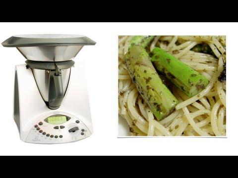 video ricetta: bimby - pasta agli asparagi.