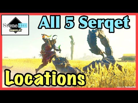 Assassin's Creed Origins  - Sting In The Tale Trophy / Achievement [5 Serqet Locations]