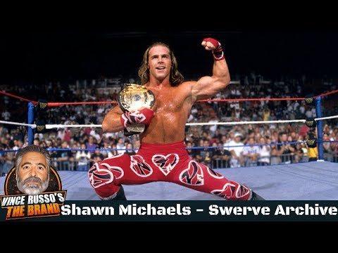 Shawn Michaels Shoot Interview w/ Vince Russo - Swerve Archive (видео)