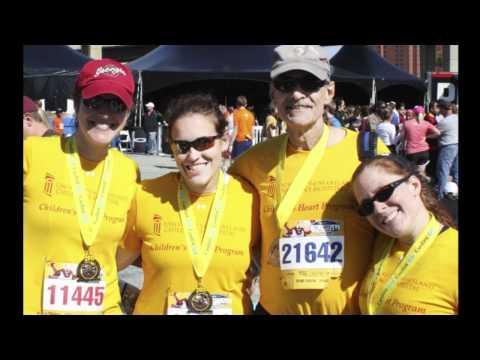Children  's Herz Running Team Teilnehmer