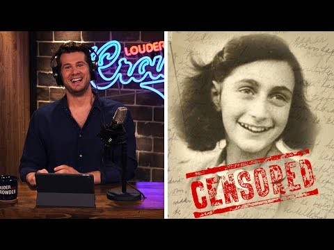 TRUE STORY: Anne Frank's Dirty Jokes! Our Favorites… | Louder With Crowder