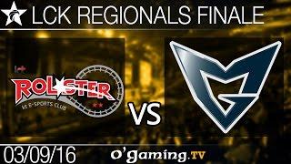 KT Rolster vs Samsung Galaxy - LCK Regionals - Finale