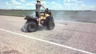 8. Can Am Renegade 800r Burnout