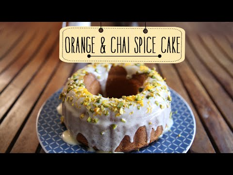 Orange and Chai Spice Cake | Easy to make Dessert Recipe | Beat Batter Bake With Priyanka