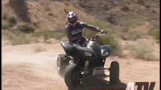 1. ATV Television Test - 2005 Kawasaki KFX700
