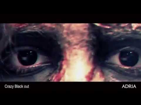 Crazy Black out - цветные линзы Adria, видео в линзах