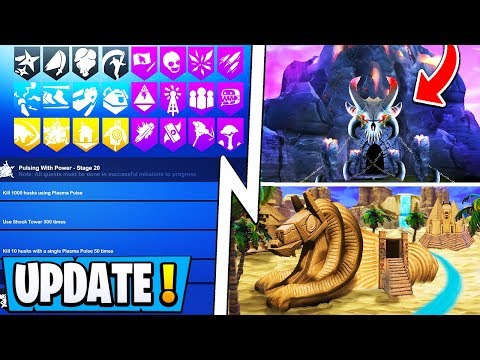*NEW* Fortnite Update! | S10 Battle Pass Info, New Maps Confirmed, Robot Jetpack!