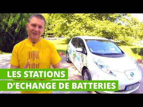 Les stations d'échange de batteries pour voitures électriques