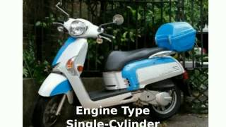 8. 2012 KYMCO Like 200i - Walkaround and Specification