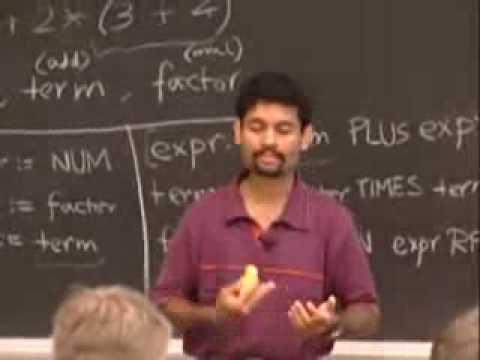 Rec 1 | MIT 6,035 Computer Language Engineering, Herbst 2005