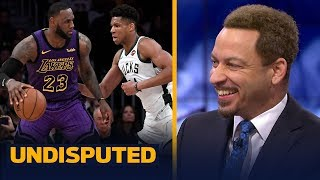 Chris Broussard reacts to Giannis' comments on LeBron & being face of the league | NBA | UNDISPUTED