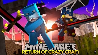Minecraft CRAZY CRAFT - THE RETURN OF CRAZY CRAFT!!! w/Captain America