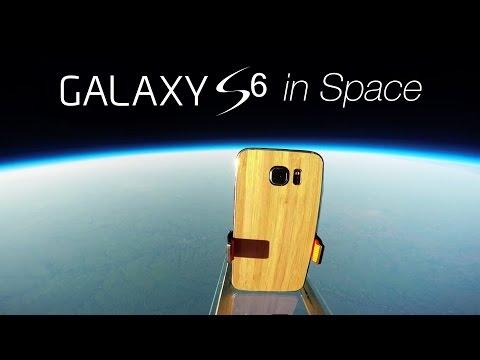 Galaxy S6'yı uzaydan yeryüzüne fırlattılar
