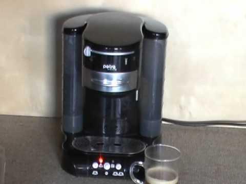 kaffeepadmaschine petra wassermenge einstellen. Black Bedroom Furniture Sets. Home Design Ideas