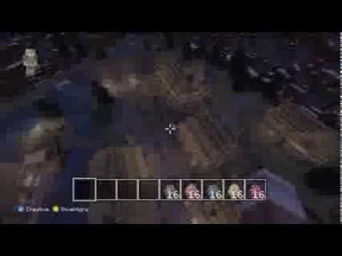 Minecraft Xbox 360 SKYRIM Pack All 3 Towns + Hidden Secrets