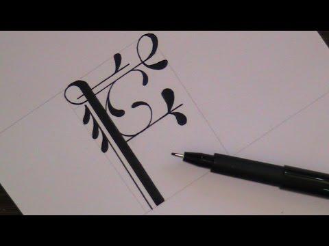 Fancy Letter f Font Fancy Cursive Letter f How to