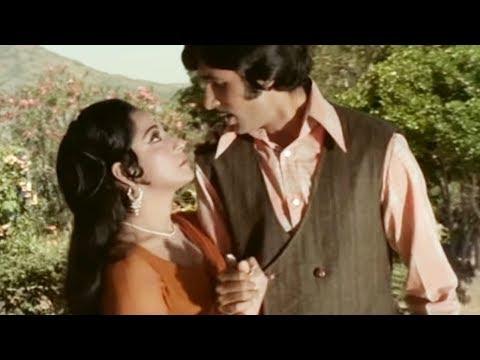 Video Roop Yeh Tera Kisne Banaya - Kishore Kumar, Amitabh, Mala Sinha, Sanjog Song download in MP3, 3GP, MP4, WEBM, AVI, FLV January 2017