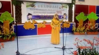 Percubaan pertama Tengku Nurain Syafiqah binti Tuan Mohd Shahimi... 6 tahun. Menamatkan pengajian tadika di Pra Sekolah...