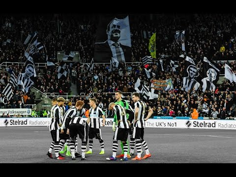 Video: A sea of black and white | Gallowgate Flags