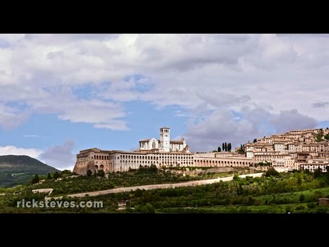 Assisi,Italy : Basilica of St. Francis