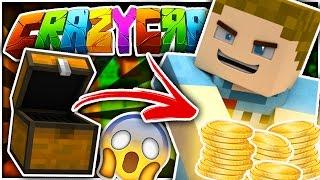 Minecraft | STEALING YOUTUBERS MONEY!! | Crazy Craft 3.0 #1