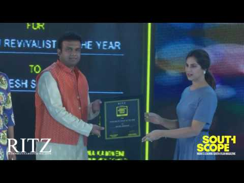 SouthScope's Handloom Revivalist of the year award goes to Sailesh Singhania, Hyderabad