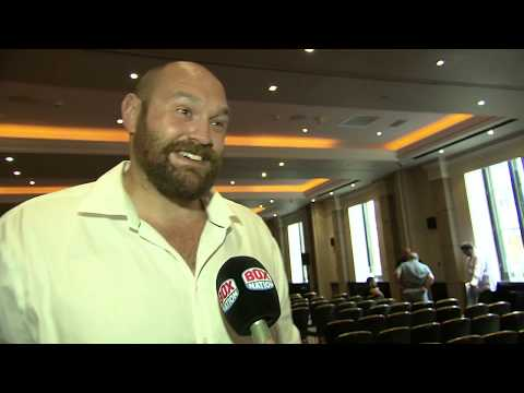 Tyson Fury talks about possibility of retirement