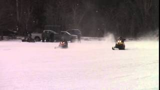 8. 800 Polaris vs 600 skidoo