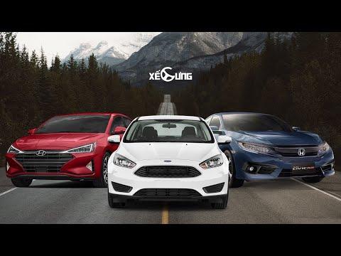 Chọn mua xe gì trong 3 chiếc: Honda Civic - Hyundai Elantra - Ford Focus @ vcloz.com