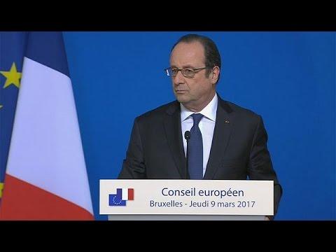 Η ερώτηση «του ενός εκατομμυρίου» στον Φ. Ολάντ από δημοσιογράφο του euronews