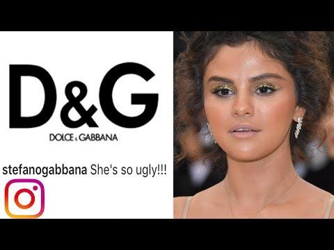 D&G Designer Calls Selena Gomez