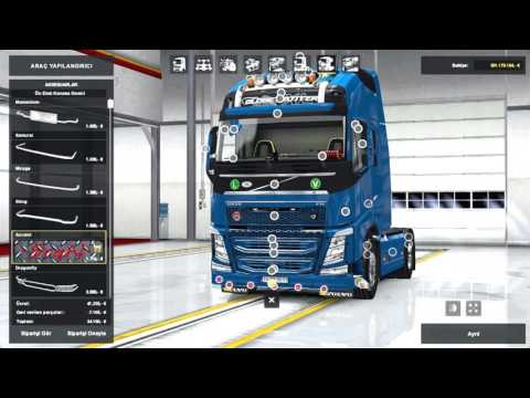 New Volvo FH16 Accessories + Interior v2.2