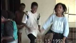 Kid danceing.