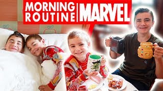 Video MORNING ROUTINE MARVEL au NEW YORK DISNEY'S HOTEL 🗽 MP3, 3GP, MP4, WEBM, AVI, FLV Agustus 2018