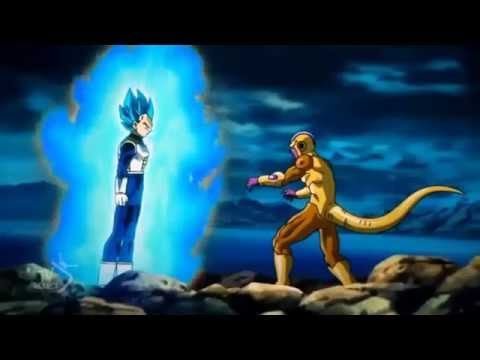 vegeta s.s god vs frieza !!!