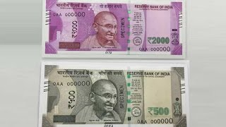This video is to tell truth about Indian new 500 and 2000 rupees note